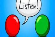چگونه خوب گوش دهیم- چطور شنونده بهتری باشیم