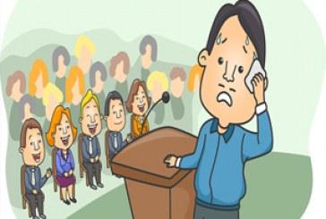 چرا هنگام سخنرانی استرس داریم-مدیریت ترس از سخنرانی
