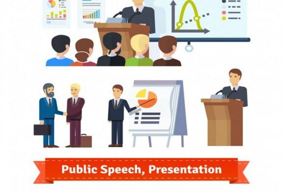 نحوه شروع سخنرانی در جلسه دفاع-آموزش سخنرانی و فن بیان